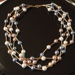 Vintage Avon 3 strand necklace